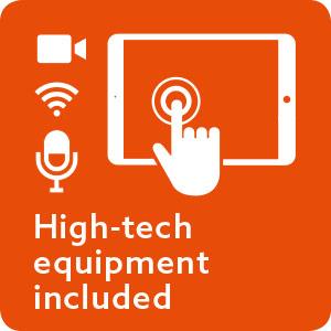 Fox Lounges – hightech equipment